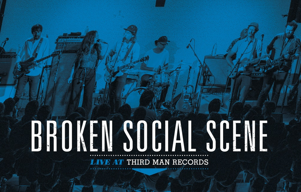 Broken Social Scene: Live At Third Man Records Out Digitally Today! featured image