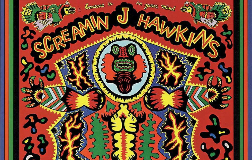 THIRD MAN RECORDS ANNOUNCES VINYL-ONLY REISSUES OF SCREAMIN' JAY HAWKINS' BECAUSE IS IN YOUR MIND AND WHAT THAT IS featured image