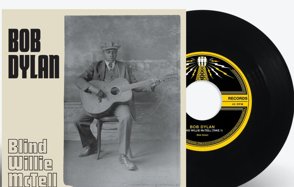 """THIRD MAN RECORDS  ANNOUNCES 7"""" VERSION OF  BOB DYLAN'S """"BLIND WILLIE MCTELL""""  OUT AUGUST 20, 2021 EXCLUSIVELY ON BLACK VINYL featured image"""
