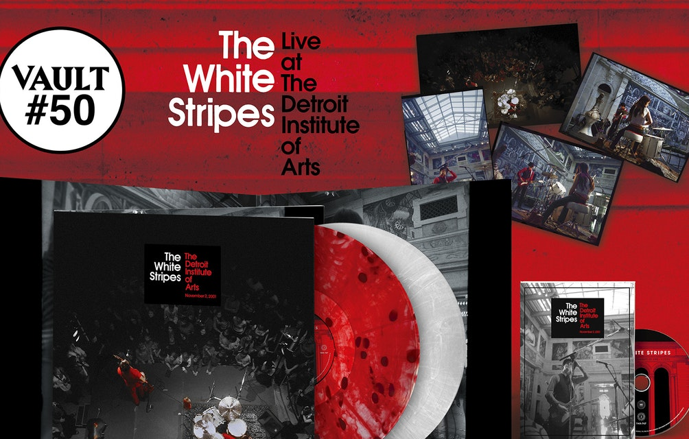 THIRD MAN RECORDS ANNOUNCES VAULT PACKAGE #50: THE WHITE STRIPES - LIVE AT THE DETROIT INSTITUTE OF ARTS featured image