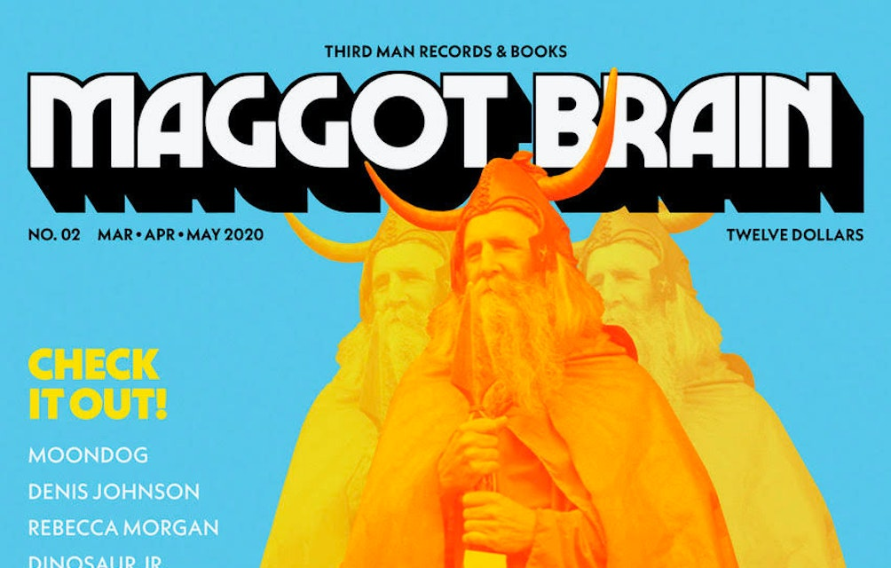THIRD MAN RECORDS AND BOOKS ANNOUNCES ISSUE #2 OF QUARTERLY PRINT PUBLICATION MAGGOT BRAIN featured image