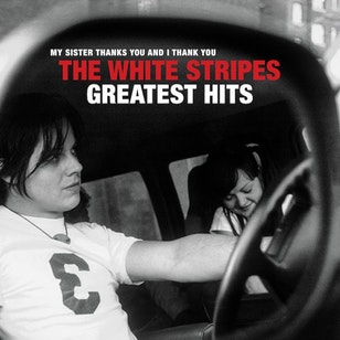 "The White Stripes ""Greatest Hits"" image"