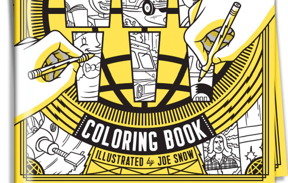 NOW AVAILABLE! THE THIRD MAN RECORDS COLORING BOOK FOR KIDS AND ADULTS OF ALL AGES! featured image