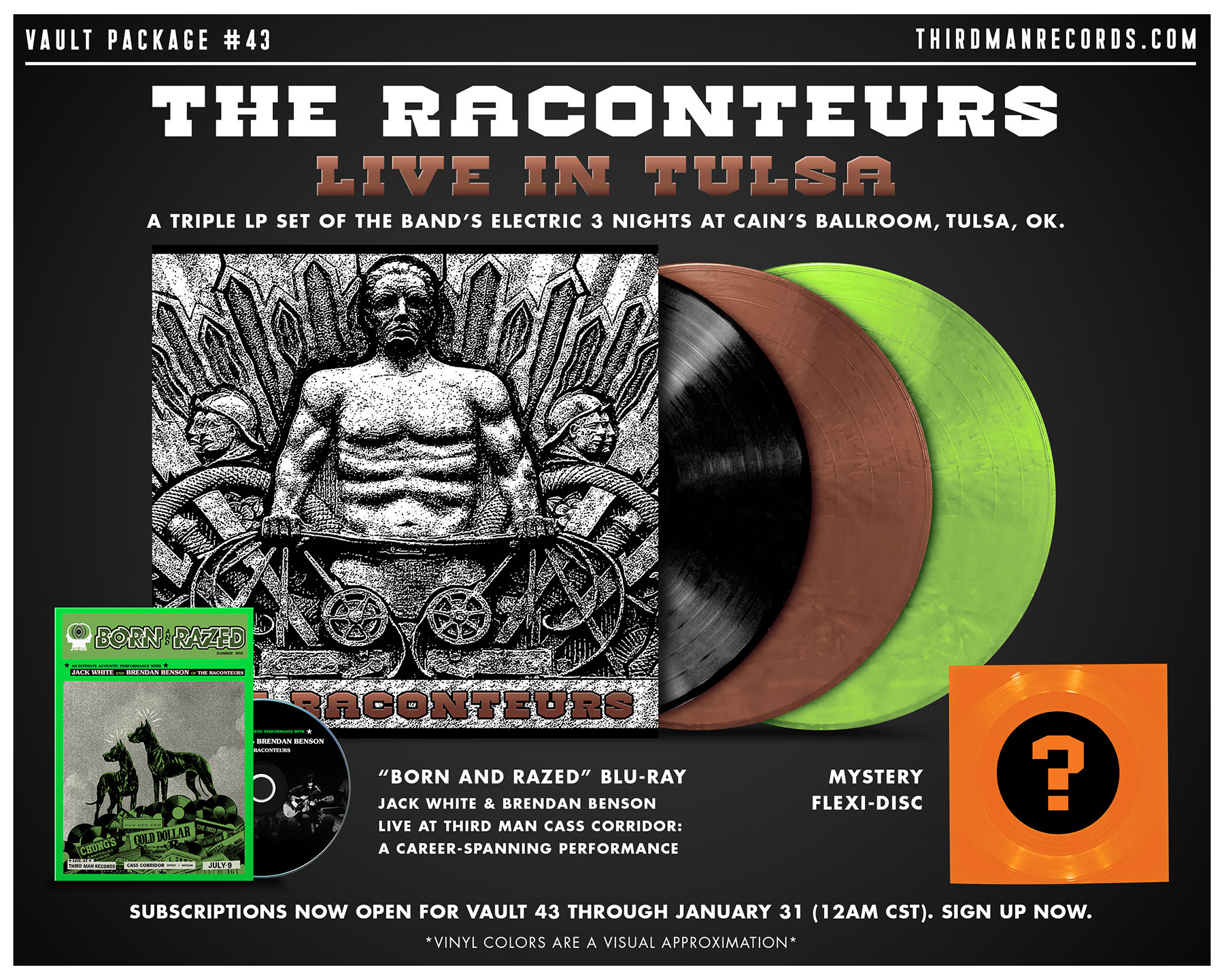 Vault 43: The Raconteurs Live in Tulsa