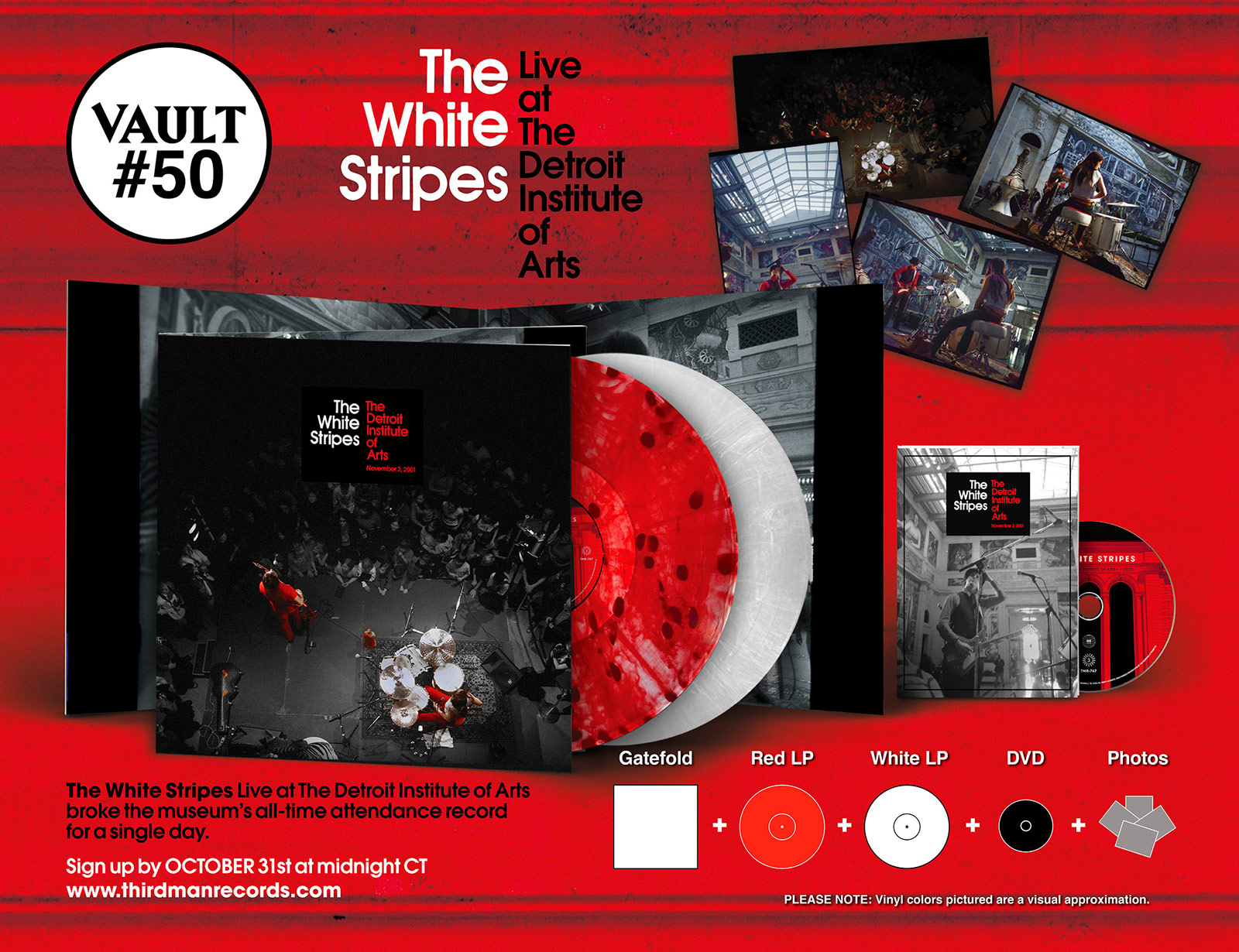 Vault 50: The White Stripes Live at the Detroit Institute of Arts
