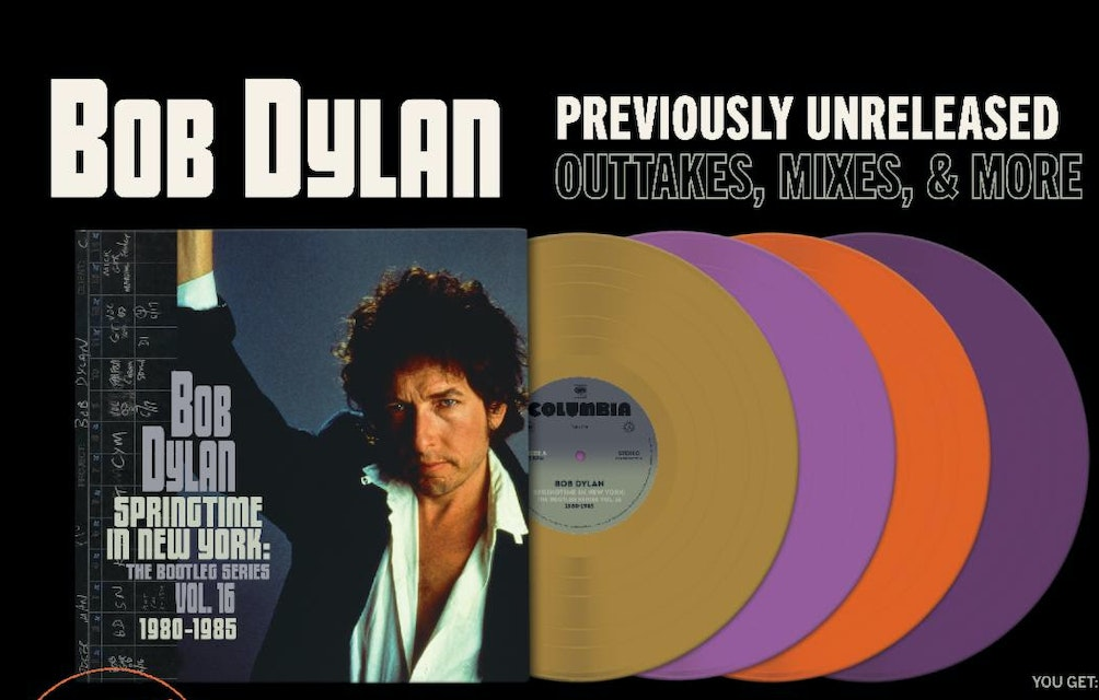 THIRD MAN RECORDS ANNOUNCES VAULT PACKAGE #49: BOB DYLAN - SPRINGTIME IN NEW YORK: THE BOOTLEG SERIES VOL. 16, 1980-1985 featured image