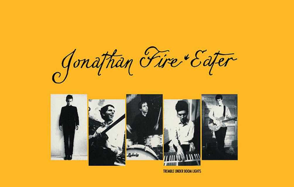 INFLUENTIAL NYC ROCKERS JONATHAN FIRE*EATER TO REISSUE EXPANDED EDITION OF SEMINAL TREMBLE UNDER BOOM LIGHTS EP featured image