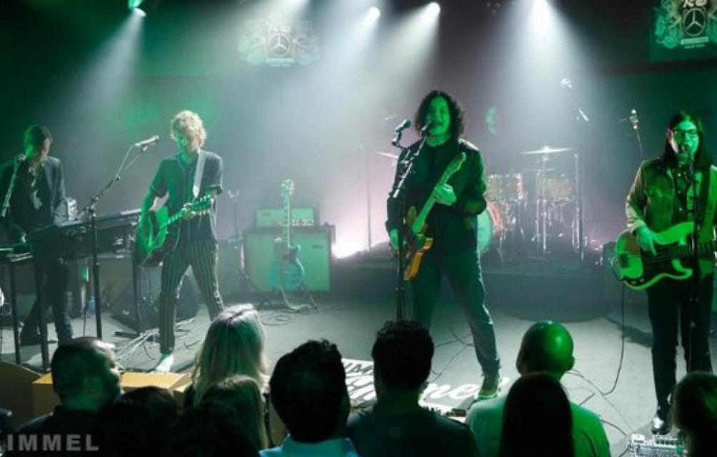 ICYMI: THE RACONTEURS PERFORMED ON JIMMY KIMMEL LIVE! LAST NIGHT featured image